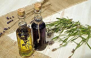 Aromapflege, ätherische Öle