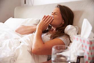 Bei einer Erkältung Antibiotika zu geben, ist meist nutzlos