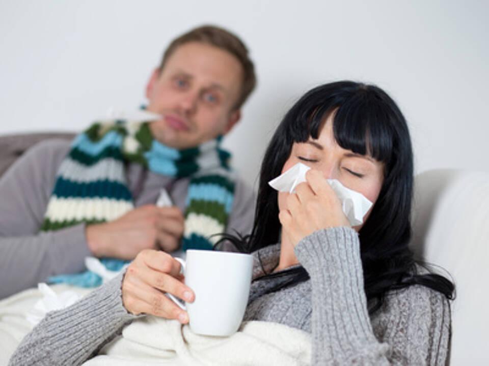 Grippewelle, grippe, grippesaison, influenza, viren, grippeschutzimpfung