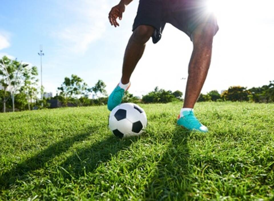 Fußball, O-Beine, Kniegelenksarthrose