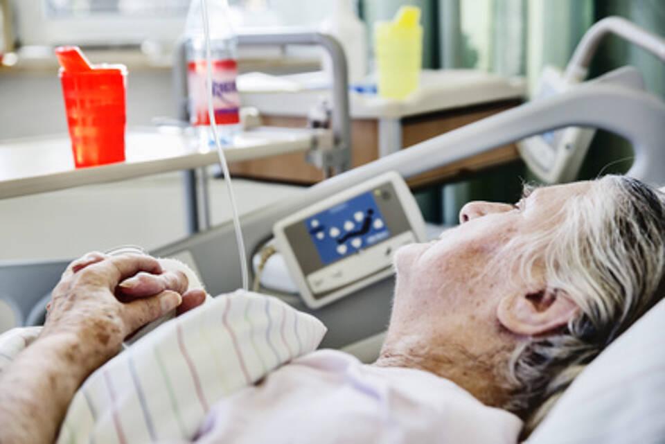 Ältere Patientin