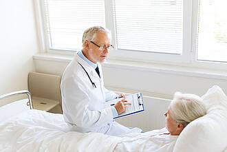 Mangelernährung verschlechtert bei älteren Patienten die Heilungschancen