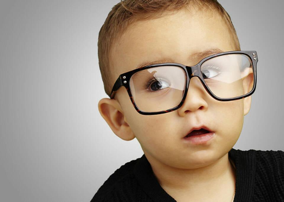 Ein Viertel der Sehfehler bei Kleinkindern bleibt unerkannt