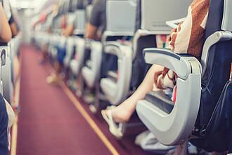 Flugzeug-Passagiere