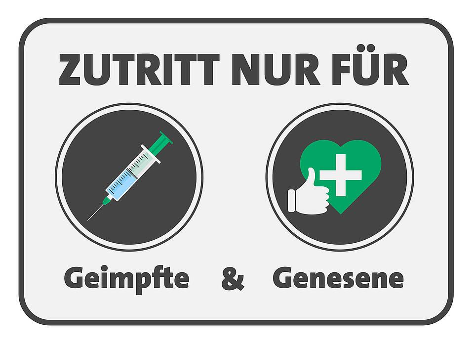 Ungeimpfte und Geimpfte sehen die 2-G-Regel höchst unterschiedlich