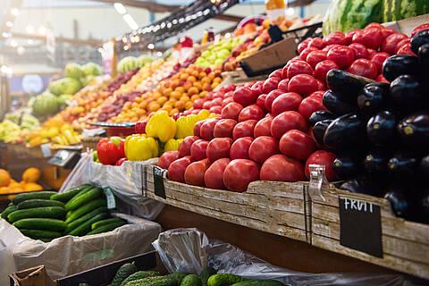 Farbiges Obst und Gemüse kann den geistigen Verfall bremsen