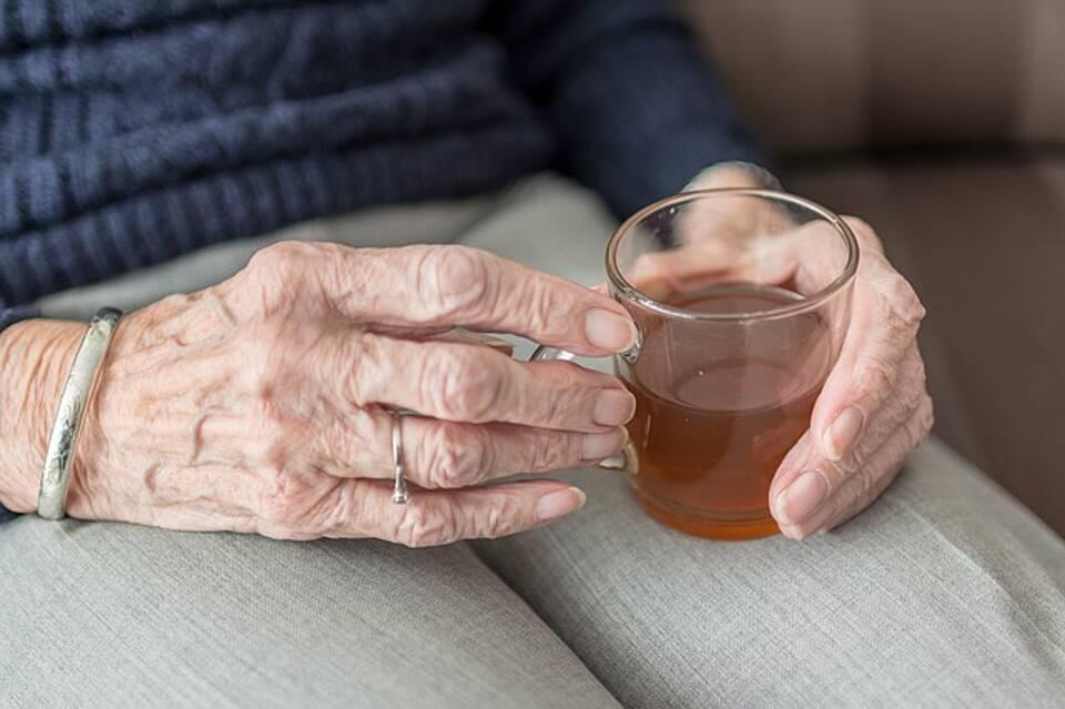 Blutdrucksenker, alte Menschen