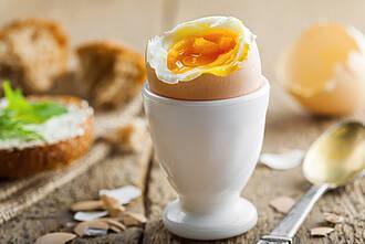 Ei, Frühstücksei, eiweiß, eigelb