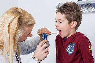 mandelentzündung, kinderarzt, gaumenmandeln, infekt