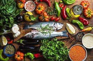 Die Mittelmeer-Küche könnte Parkinson vorbeugen