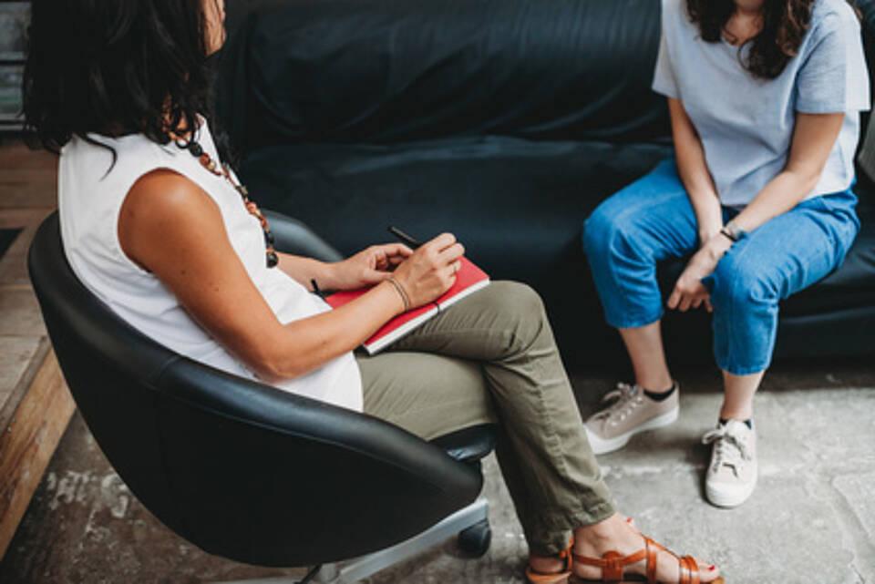 Gesprächstherapie, Psychiatrie