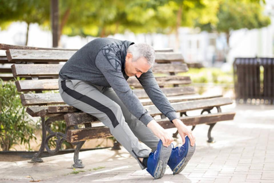 Dehnübung, Sport, Joggen, Laufen, Training, Marathon, Muskulatur