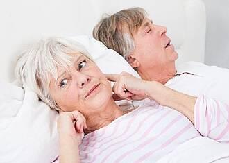 Schnarchen schadet Gesundheit