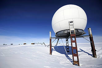 Forschungsstation, Antarktis, Südpol