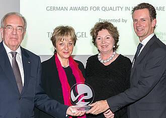 Deutscher Qualitätspreis Gesundheit 2014 würdigt Mayo Clinic