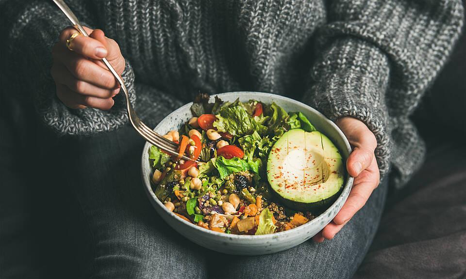Vegane Ernährung ist im Trend, kann aber auf die Knochen gehen f