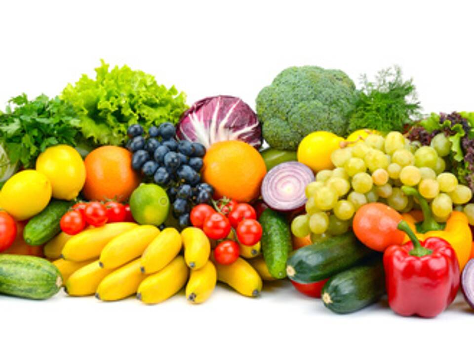 gesunde Ernährung, Obst, Gemüse