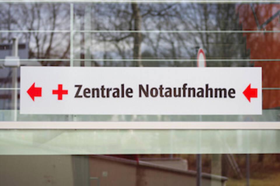 Deutschlands Notaufnahmen sind überlastet.