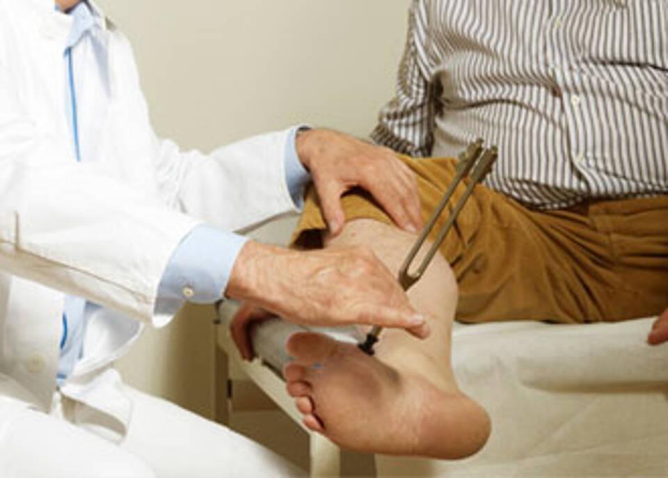 Diabetischer Fuß: Eine bessere Frühdiagnostik könnte Diabetikern viel Leid ersparen