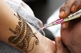 Henna-Tattoos sind nicht ungefährlich.
