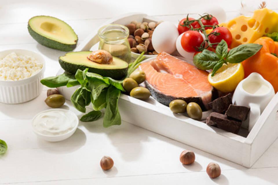 low-carb-diät, ketogene diät, eiweiß, fett