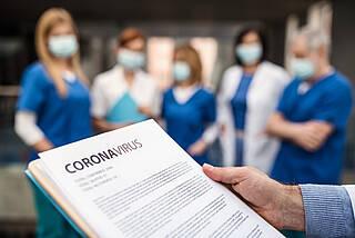 Exponentieller Anstieg von Coronavirus-Infektionen in Deutschland