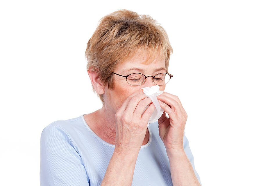 Die Immunreaktion wird träge im Alter – das Risiko für Infektionskrankheiten steigt