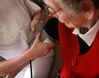 Schmerzen, Altenpflege