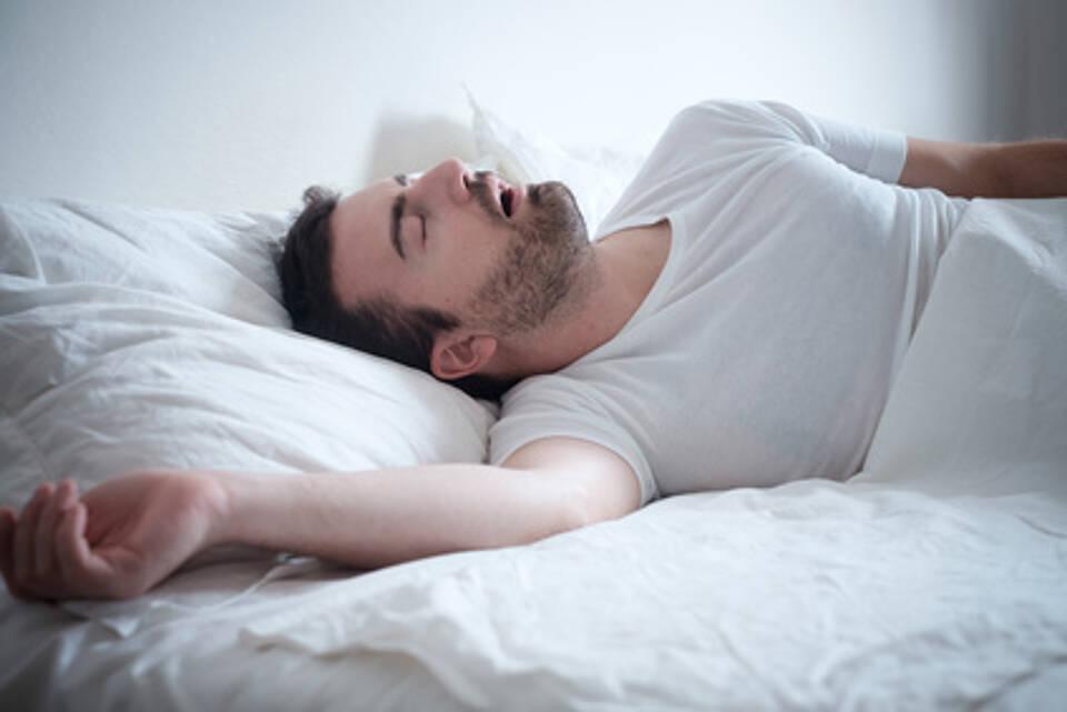 schnarchen, schlafstörung, schlaf-apnoe