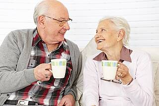 Senioren trinken zu wenig