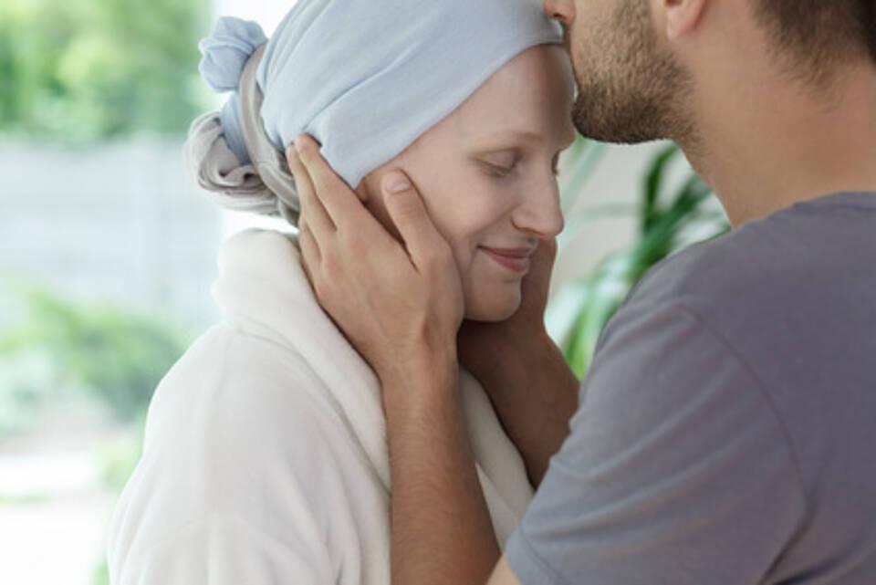 Brustkrebs-Patientin