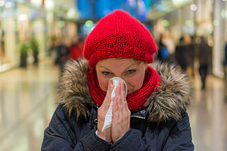 schnupfen, erkältung, sinusitis, nasennebenhöhlenentzündung