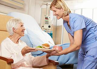 Ernährung von Pflegebedürftigen