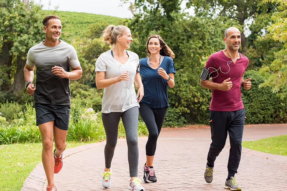 Sport, körperliche Aktivität, Bewegung, Hirnvolumen, Gehirn