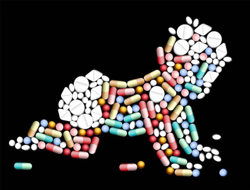 Kaum zugelassene Medikamente für Kinder