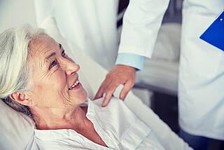 Wenn Krebs die Kräfte aufzehrt: Auf der neuen Supportivstation im Berliner Klinikum Havelhöhe werden Krebspatienten aufgepäppelt