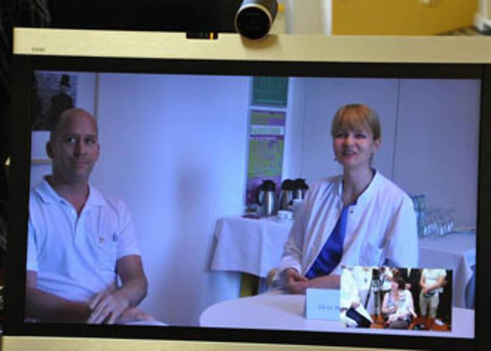 Pädiatrische Diagnose per Videokonferenz