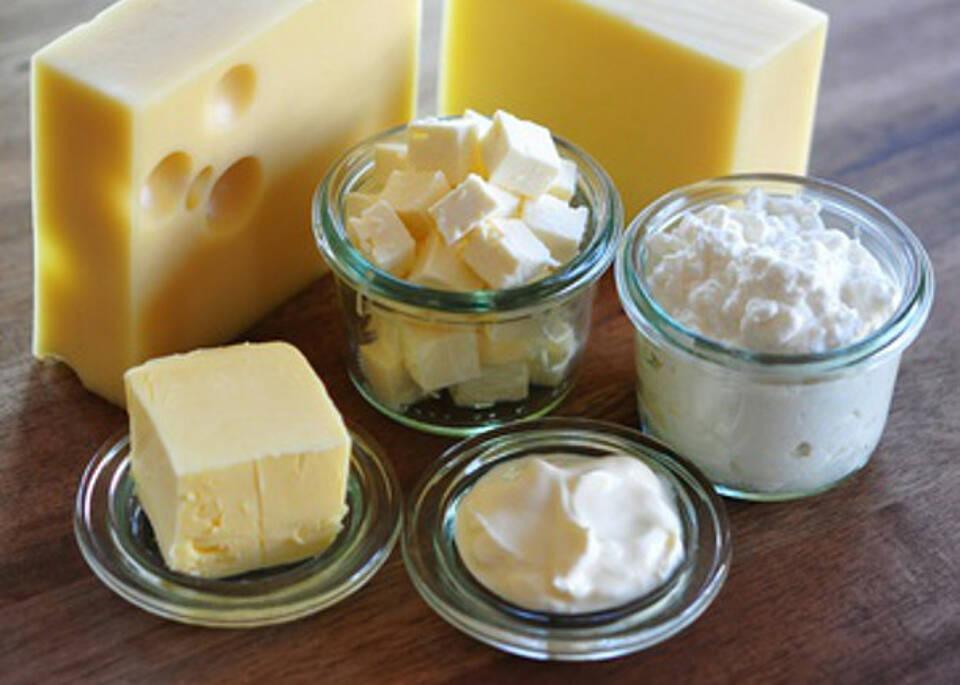 Käse enthält viele gesättigte Fettsäuren