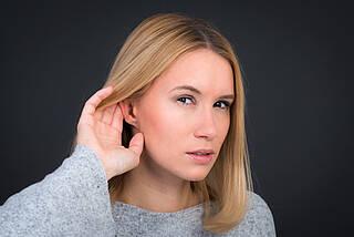 Hörsturz, Hörverlust, schwerhörig, taub