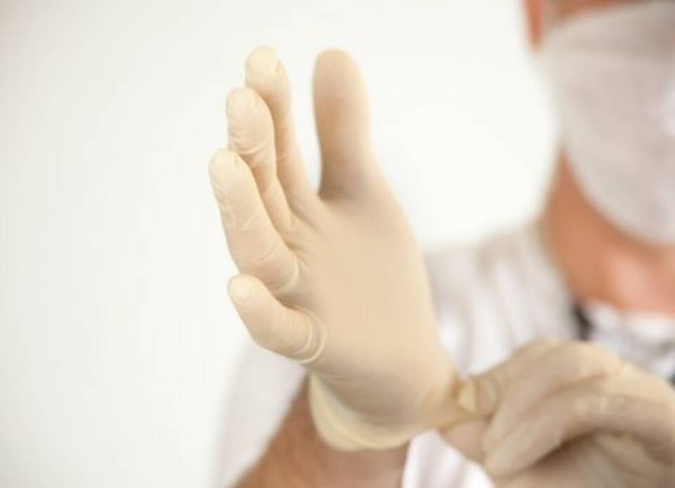 Latexallergie, Latexhandschuhe, Arbeitsschutz