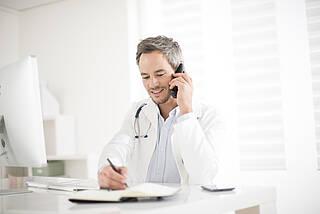 Krankschreibung, Praxis, niedergelassener Arzt