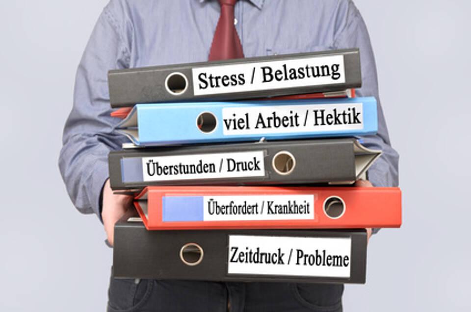 Psychische Belastungen am Arbeitsplatz