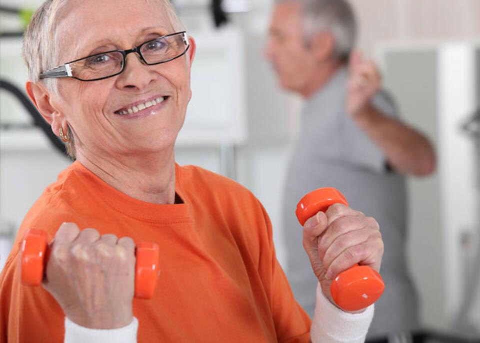 Mehrzahl der Älteren fühlt sich gesund