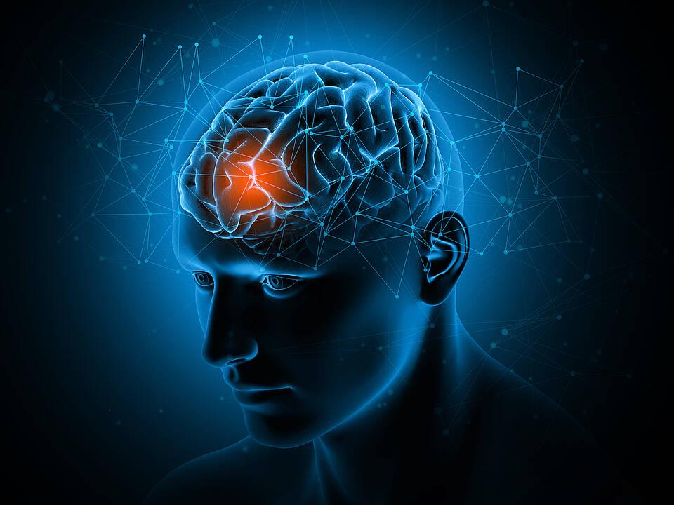 Die Theta Burst Stimulation ist ein neues Behandlungsverfahren gegen Depressionen