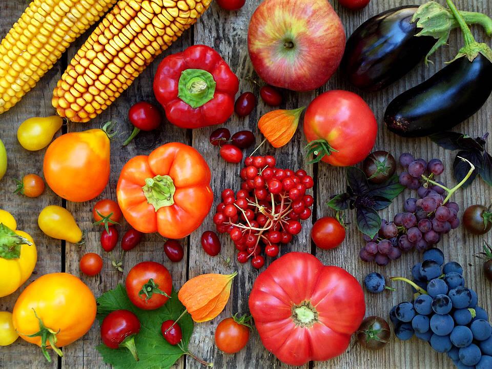 Die in Obst und Gemüse enthaltenen Farbstoffe fördern die Gefäßgesundheit