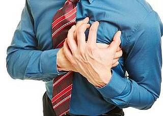 Koronargefäß-Verkalkung, Herzinfarkt