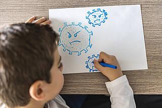 Kinder, schulkind, Coronavirus