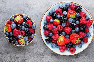 Beern, Gesundheit, Erdbeeren, Blaubeeren