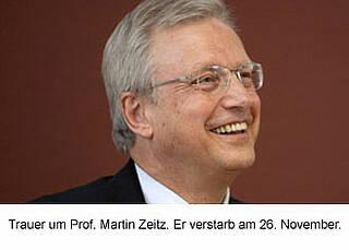 Prof. Martin Zeitz überraschend gestorben