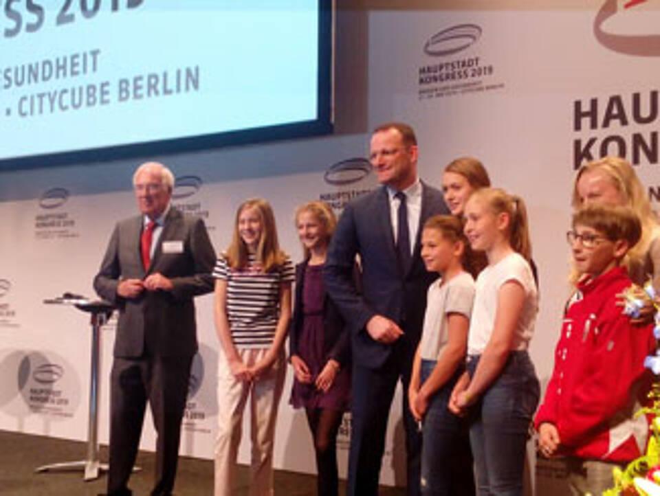 Bundesgesundheitsminister Jens Spahn eröffnet den Hauptstadtkongress Medizin und Gesundheit